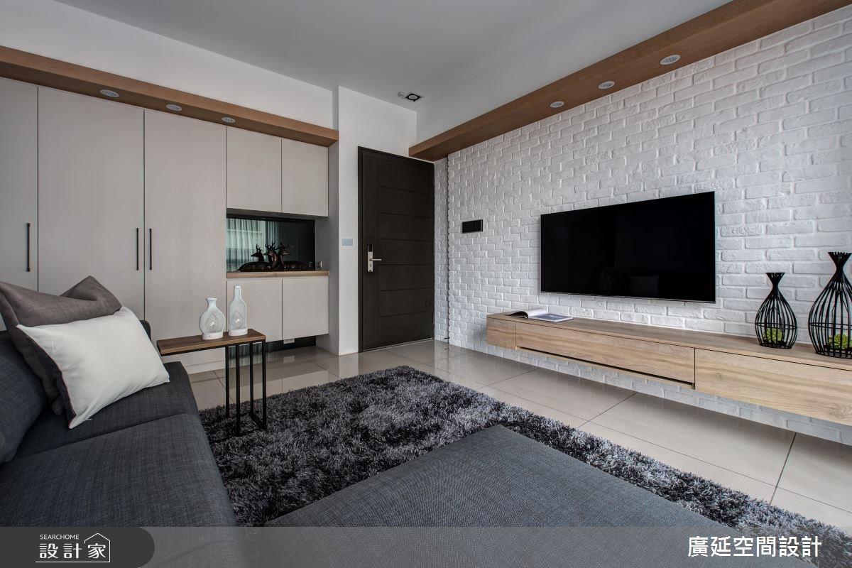 25坪新成屋(5年以下)_現代風案例圖片_廣延空間設計_廣延_18之4