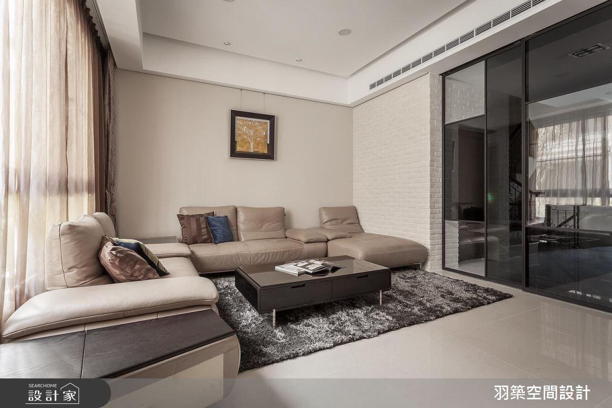 55坪新成屋(5年以下)_現代風案例圖片_羽築空間設計_羽築_02之1