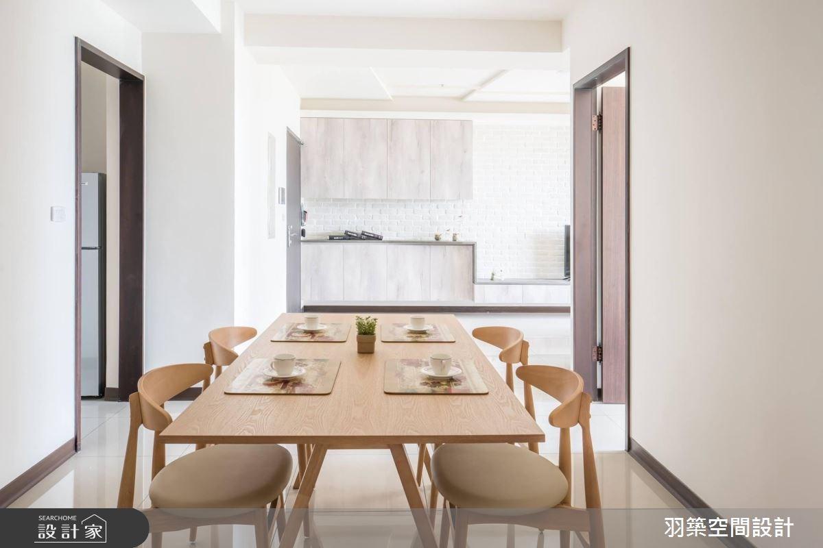 27坪新成屋(5年以下)_北歐風案例圖片_羽築空間設計_羽築_07之3