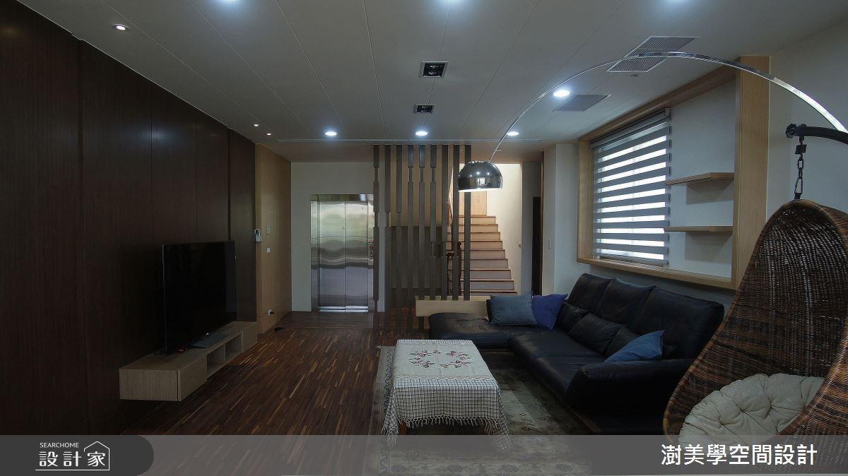 新成屋(5年以下)_現代風客廳案例圖片_澍美學室內裝修設計有限公司_澍美學_05之17