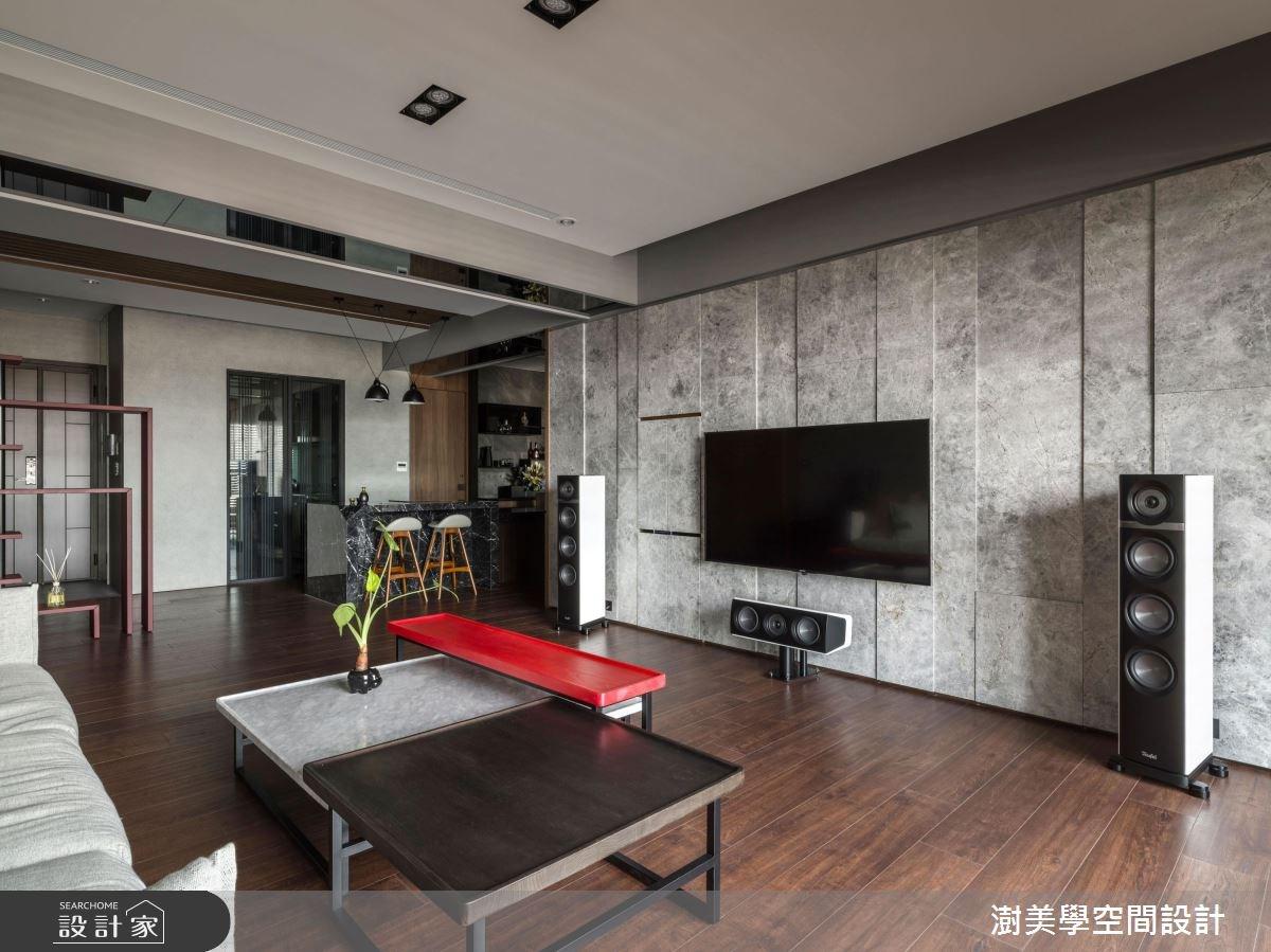 45坪新成屋(5年以下)_現代風客廳案例圖片_澍美學室內裝修設計有限公司_澍美學_09之5