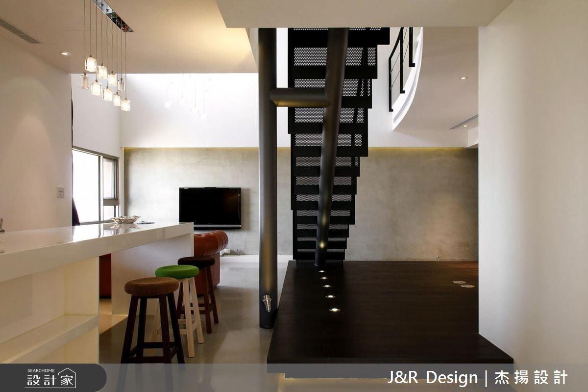 45坪預售屋_現代風吧檯樓梯案例圖片_杰揚設計有限公司_杰揚_02之4