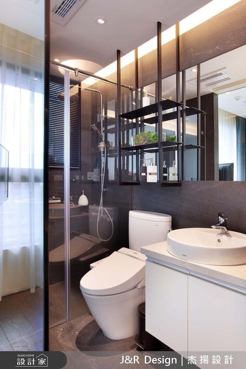 20坪預售屋_工業風浴室案例圖片_杰揚設計有限公司_杰揚_04之15