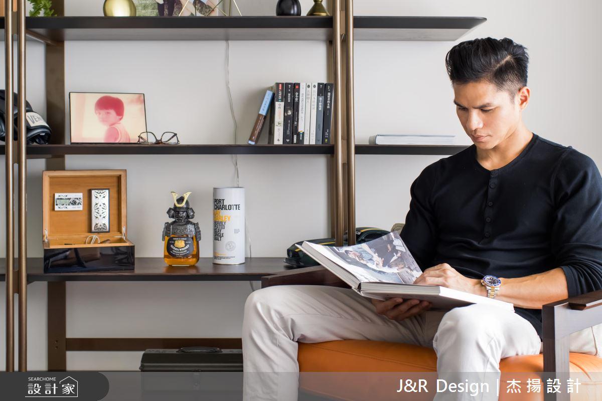 型男設計師最愛客廳設計!接待、書房、家庭劇院都堪用