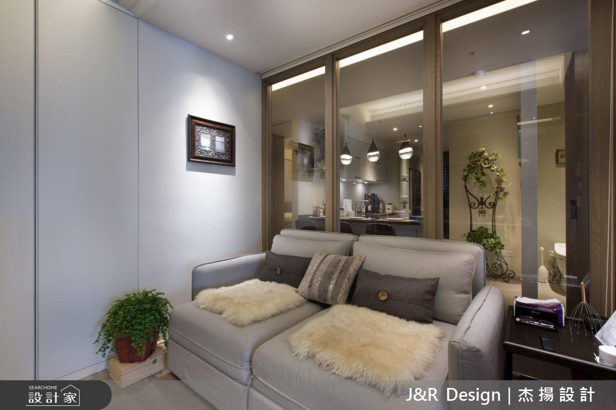 50坪預售屋_混搭風客廳案例圖片_杰揚設計有限公司_杰揚_09之16