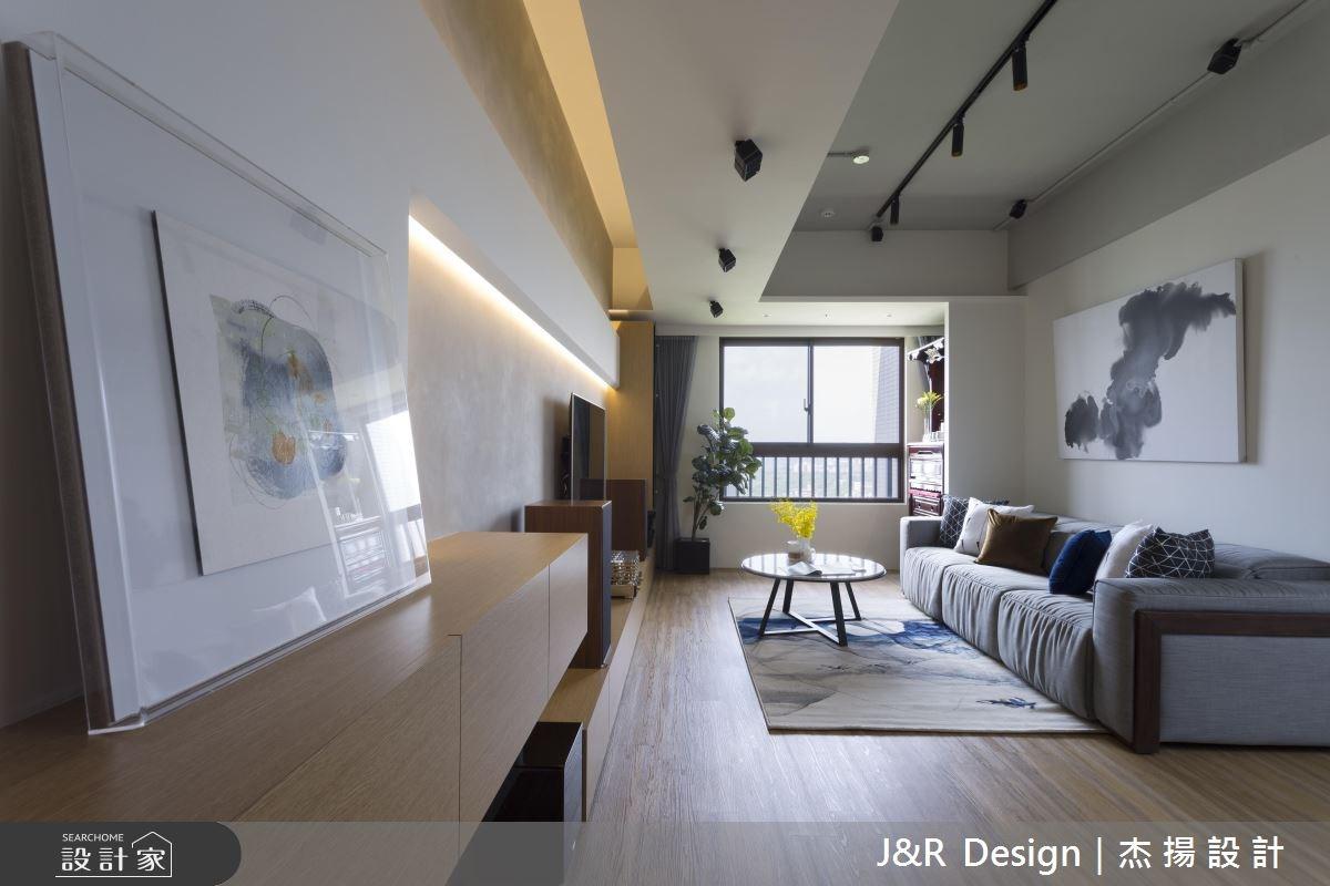 24坪新成屋(5年以下)_混搭風客廳案例圖片_杰揚設計有限公司_杰揚_10之5