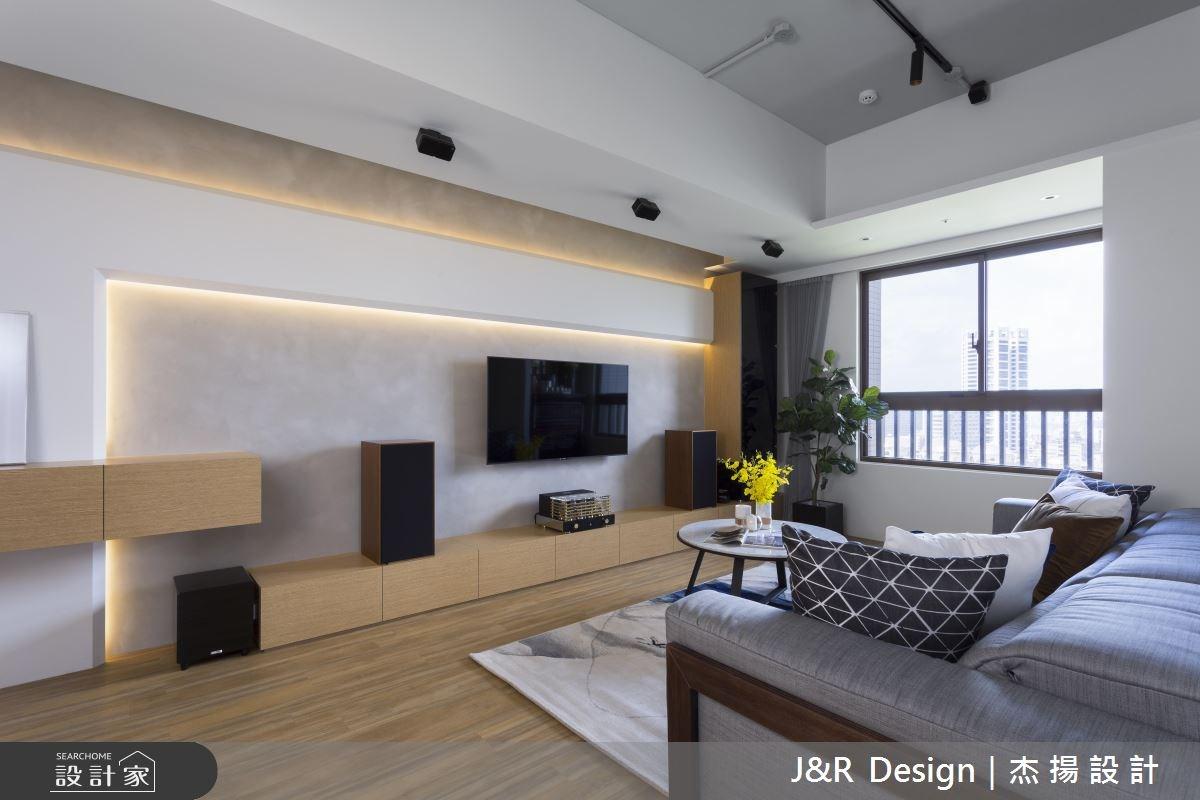 24坪新成屋(5年以下)_混搭風客廳案例圖片_杰揚設計有限公司_杰揚_10之6