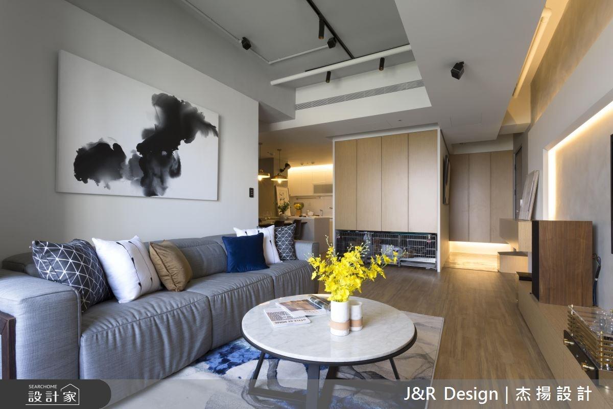 24坪新成屋(5年以下)_混搭風客廳案例圖片_杰揚設計有限公司_杰揚_10之8