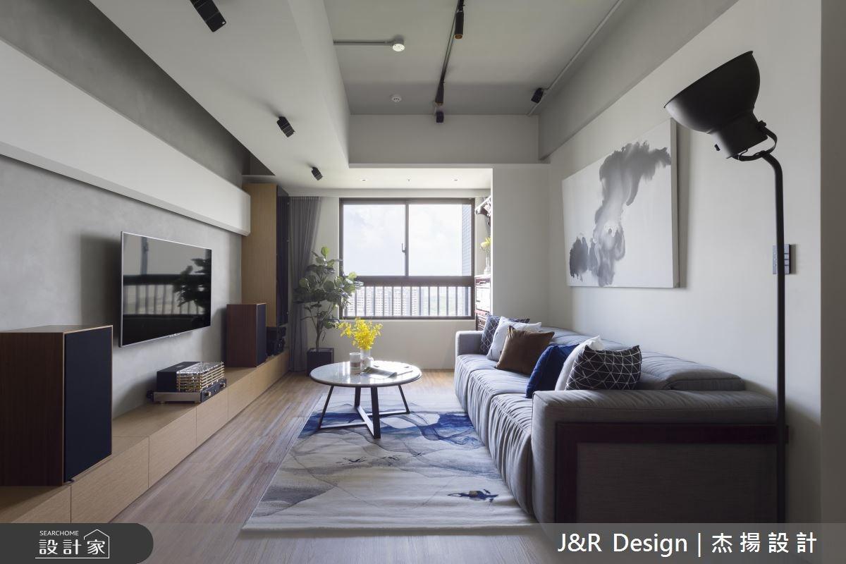 24坪新成屋(5年以下)_混搭風客廳案例圖片_杰揚設計有限公司_杰揚_10之9
