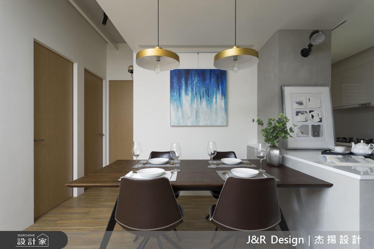 24坪新成屋(5年以下)_混搭風餐廳案例圖片_杰揚設計有限公司_杰揚_10之11