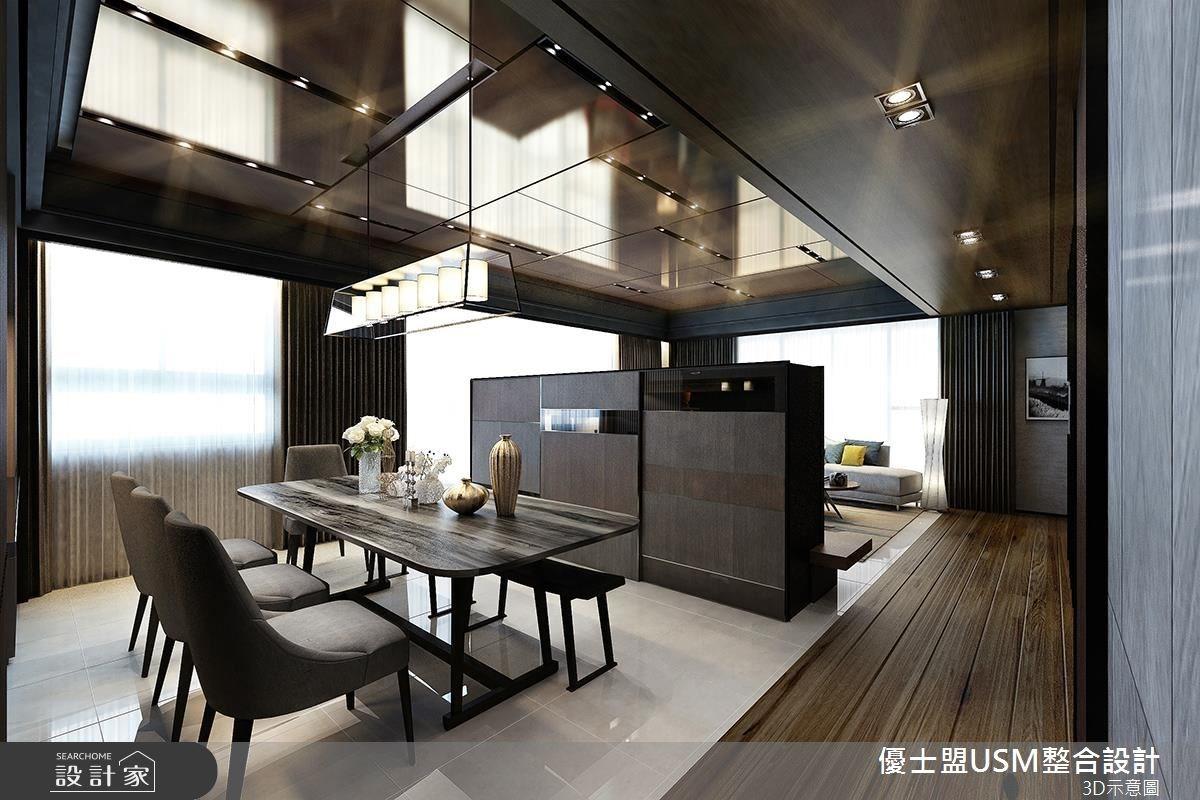 60坪新成屋(5年以下)_人文禪風餐廳案例圖片_優士盟整合設計有限公司_優士盟_11之3