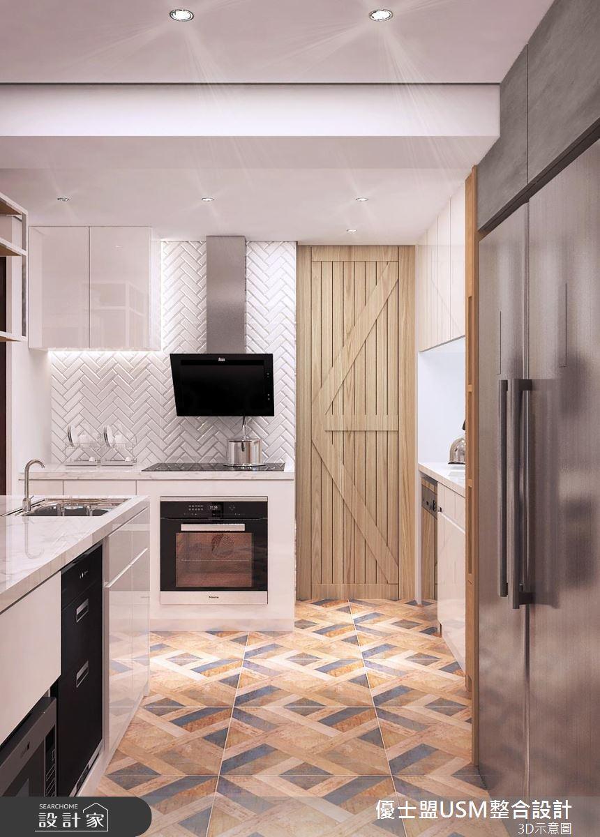 20 坪北歐風居家,設計師將規劃重點放在利用空間、創