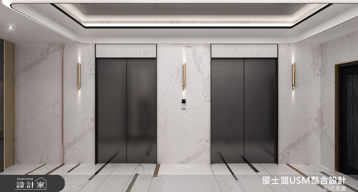 90坪新成屋(5年以下)_奢華風案例圖片_優士盟整合設計有限公司_優士盟_29之2