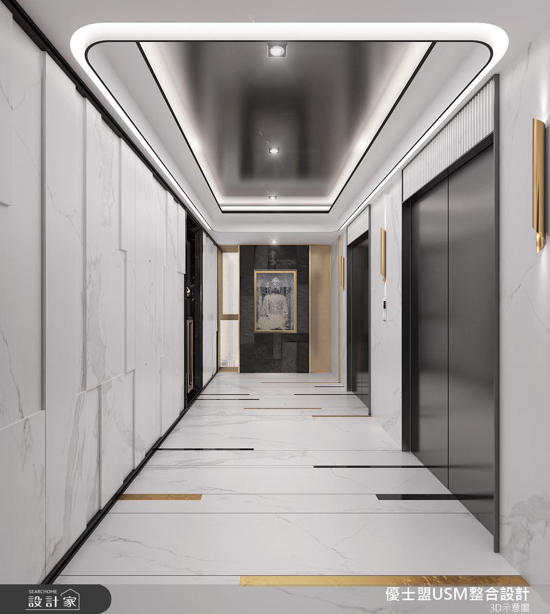 90坪新成屋(5年以下)_奢華風案例圖片_優士盟整合設計有限公司_優士盟_29之3