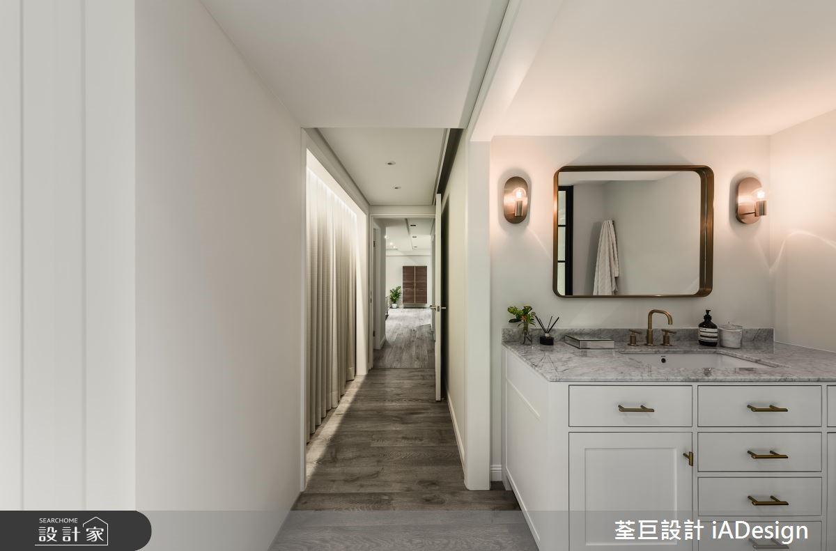 60坪新成屋(5年以下)_美式風浴室走廊案例圖片_荃巨設計 iADesign_荃巨_17之5