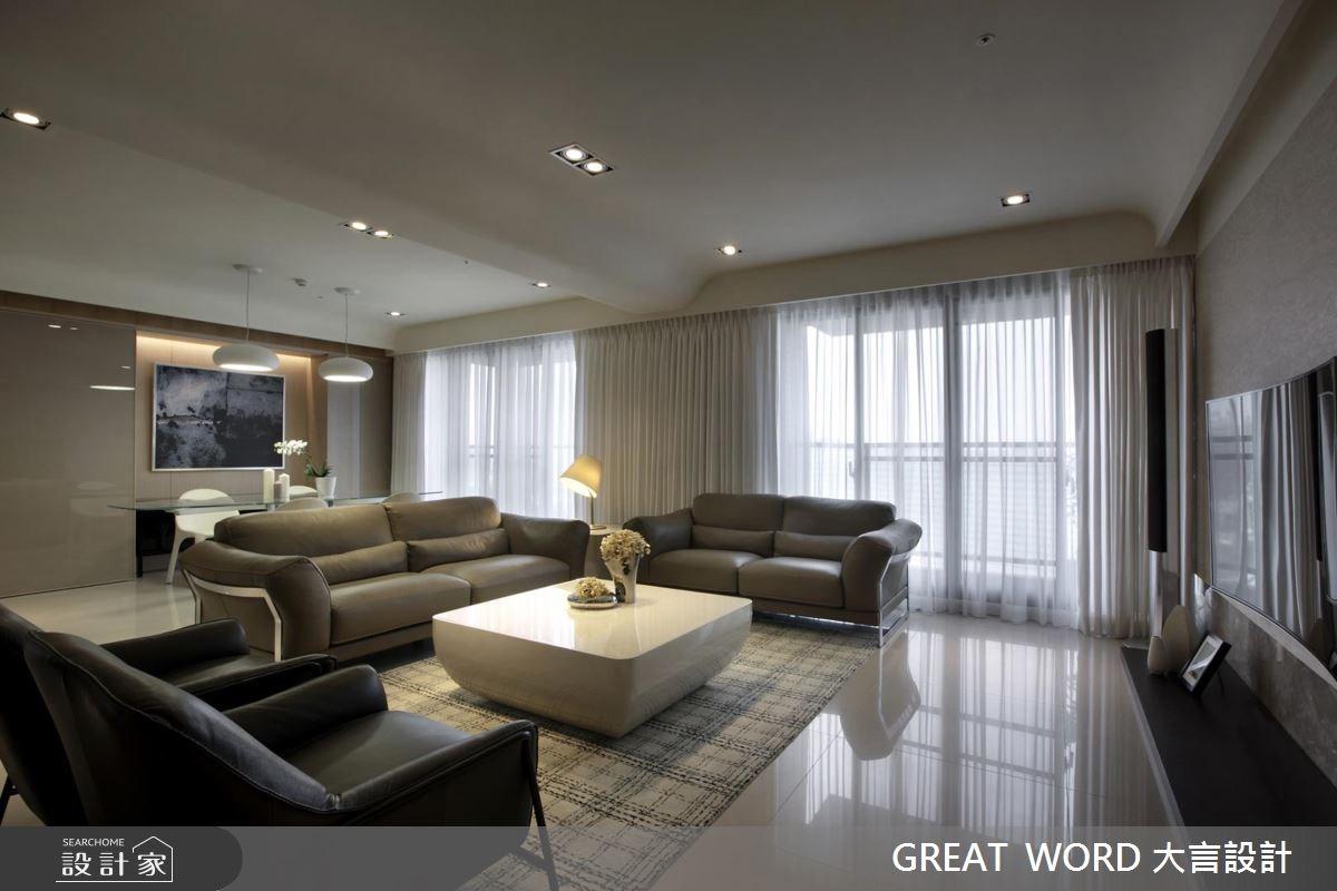 90坪預售屋_簡約風案例圖片_大言室內裝修有限公司_大言_03之2