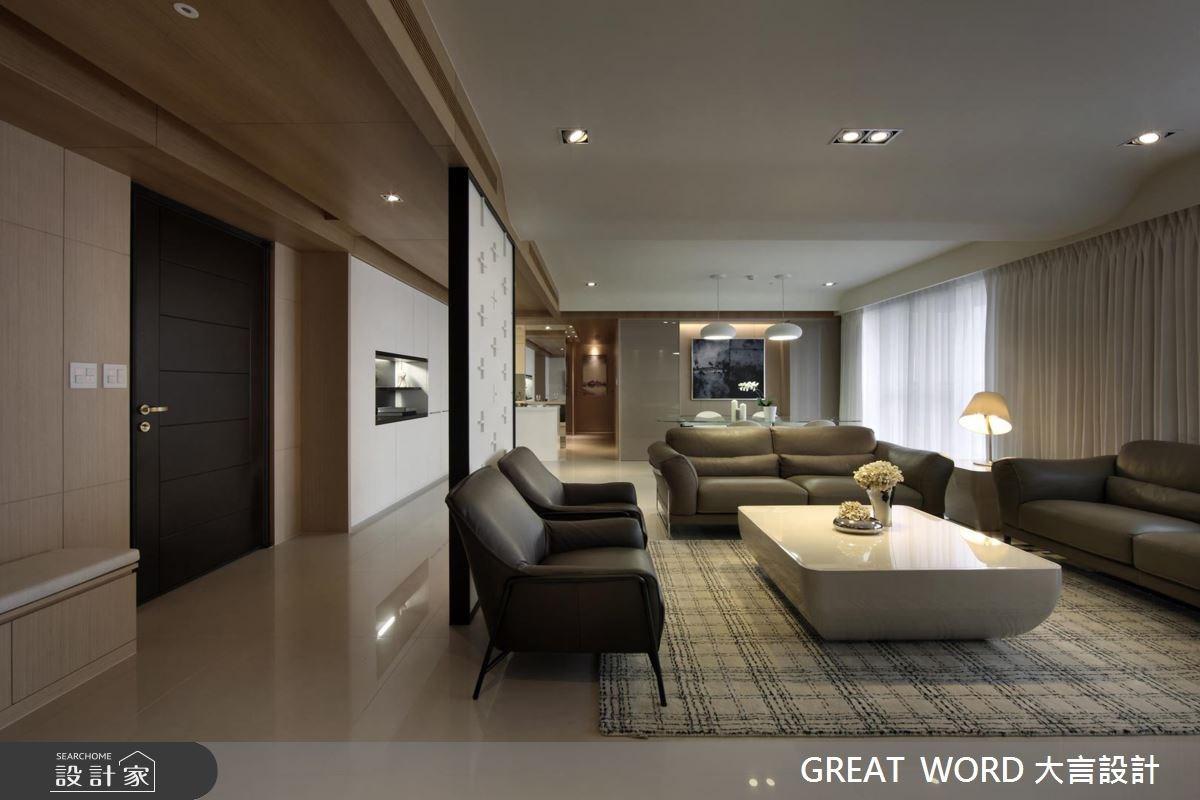 90坪預售屋_簡約風案例圖片_大言室內裝修有限公司_大言_03之3