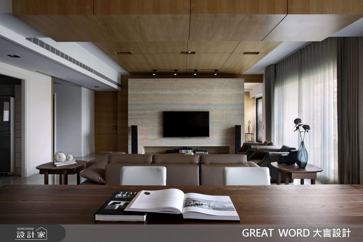 110坪新成屋(5年以下)_簡約風案例圖片_大言室內裝修有限公司_大言_04之1