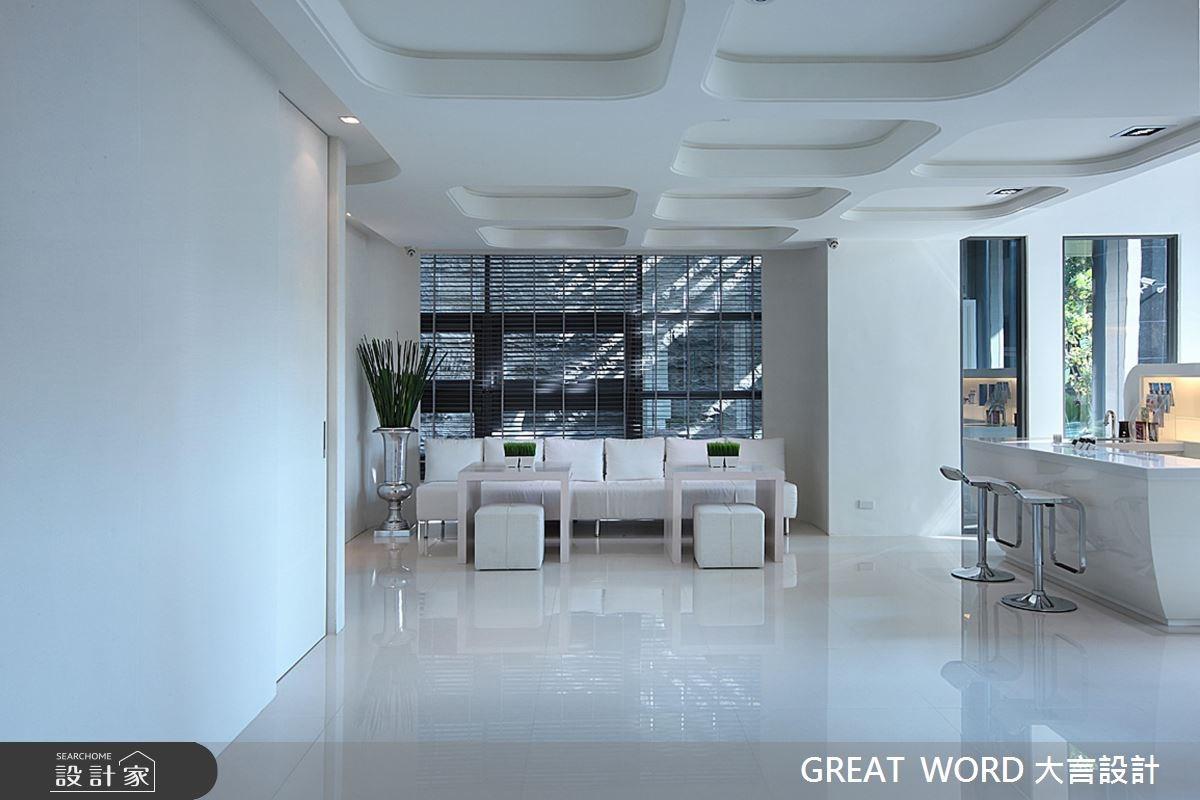 200坪新成屋(5年以下)_現代風案例圖片_大言室內裝修有限公司_大言_05之4