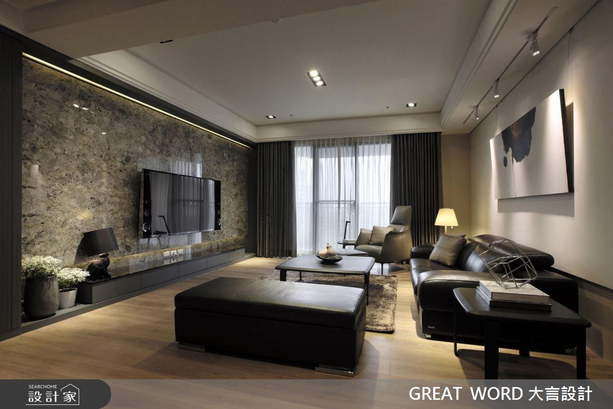85坪新成屋(5年以下)_簡約風案例圖片_大言室內裝修有限公司_大言_06之4