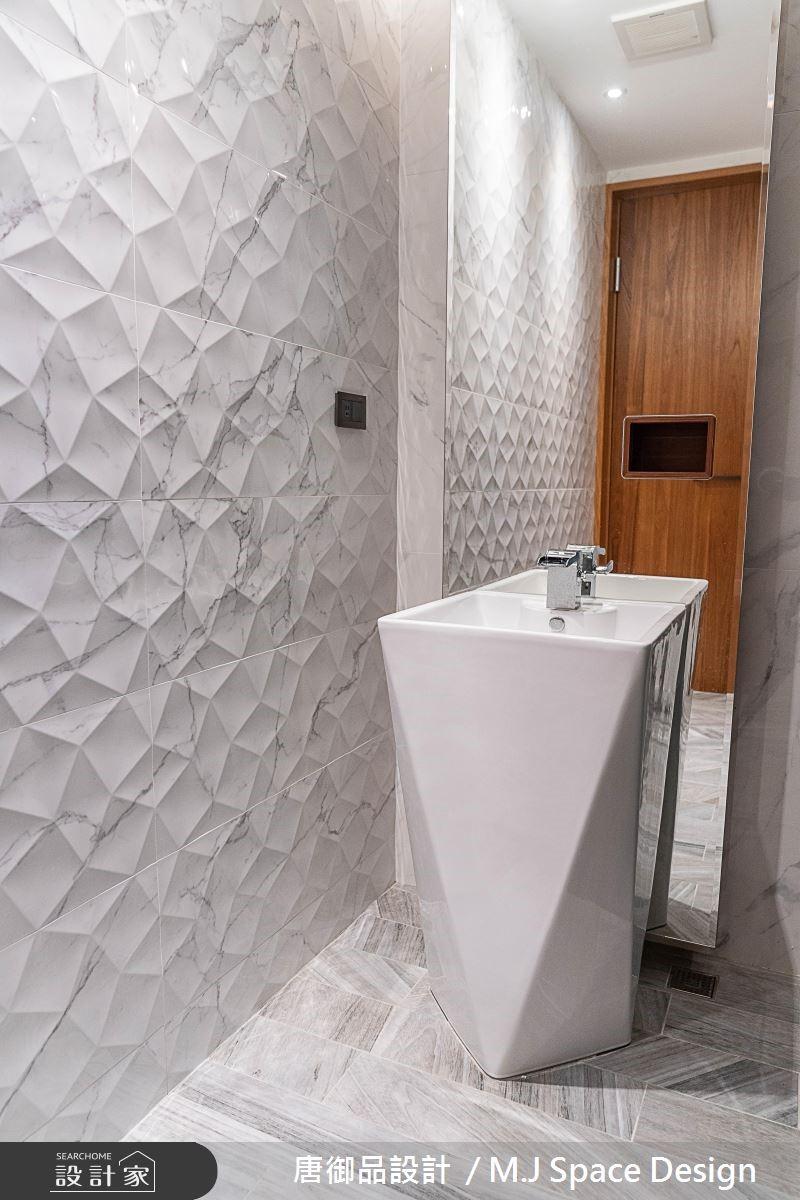 70坪新成屋(5年以下)_奢華風浴室案例圖片_唐御品空間規劃設計公司_唐御品_04之9