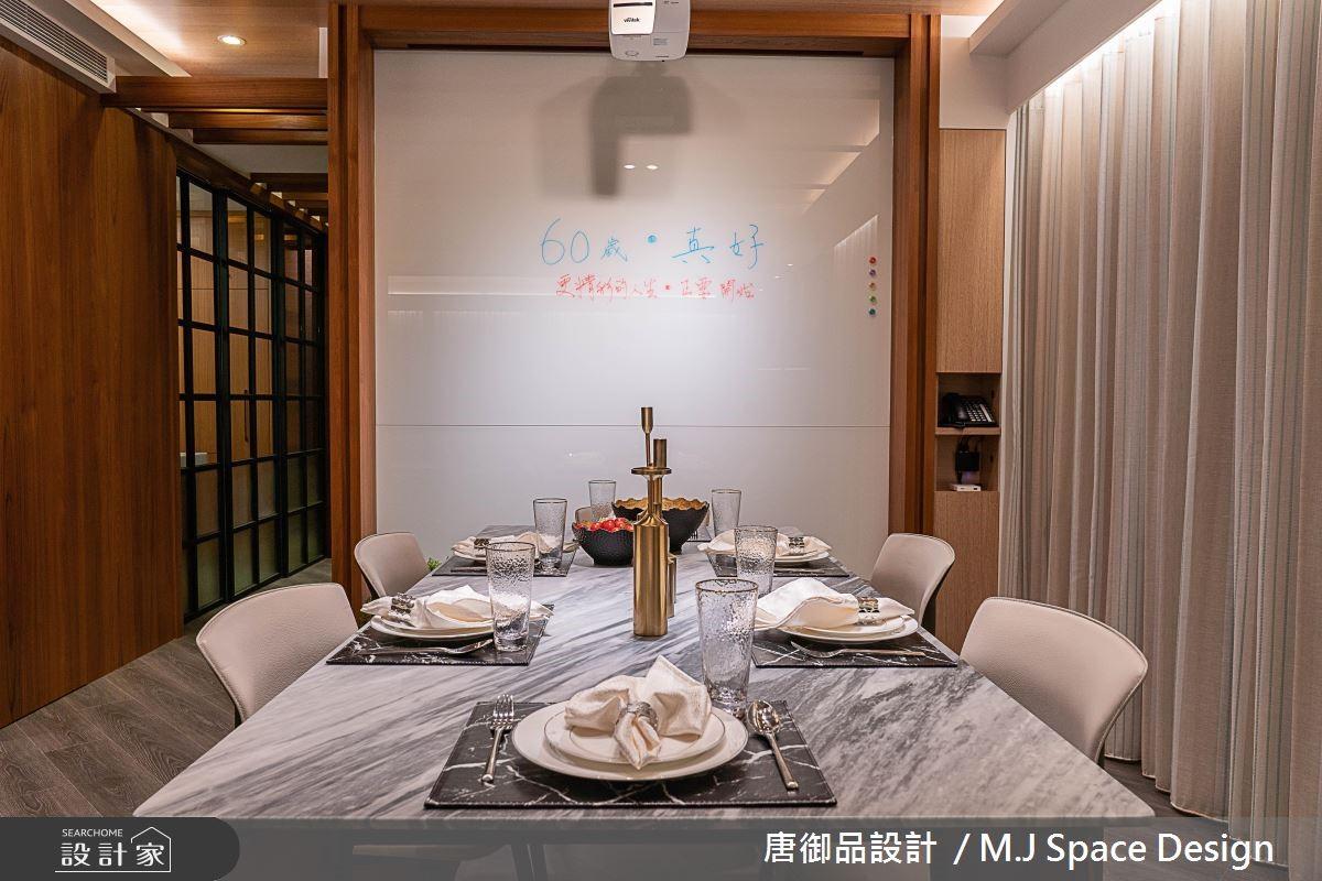70坪新成屋(5年以下)_奢華風餐廳案例圖片_唐御品空間規劃設計公司_唐御品_04之6