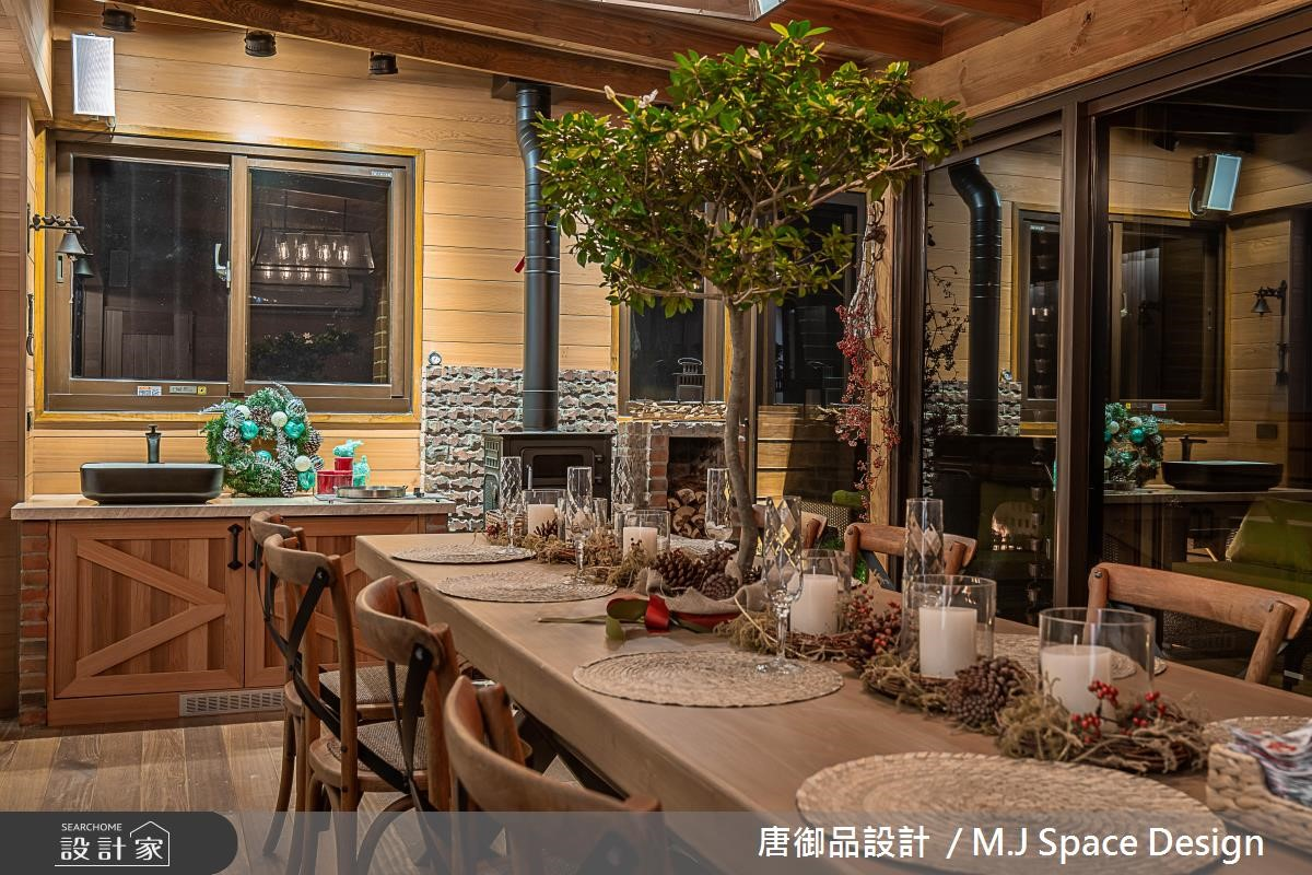 70坪新成屋(5年以下)_奢華風餐廳案例圖片_唐御品空間規劃設計公司_唐御品_04之14