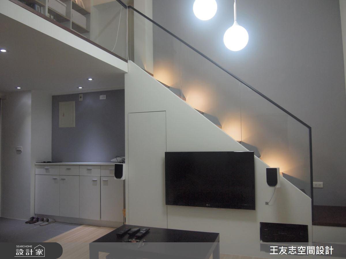 14坪新成屋(5年以下)_簡約風案例圖片_王友志空間設計有限公司_王友志_01之3