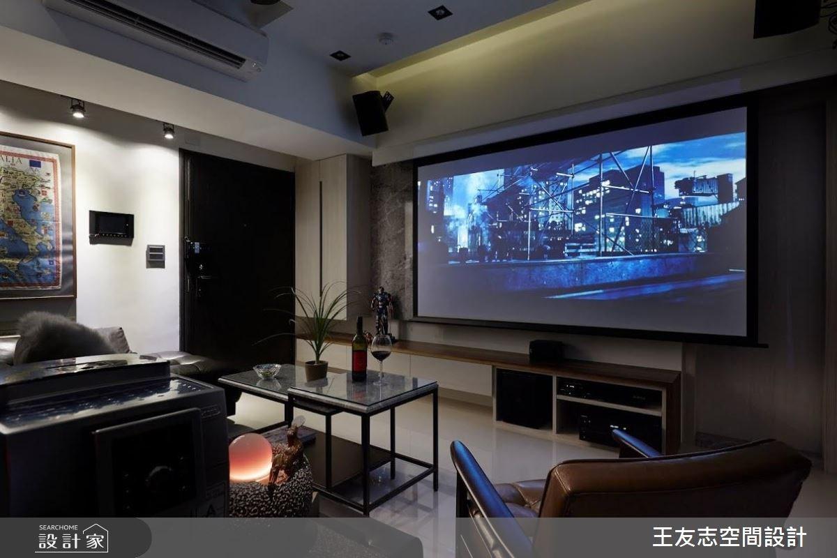 16坪新成屋(5年以下)_工業風案例圖片_王友志空間設計有限公司_王友志_05之3