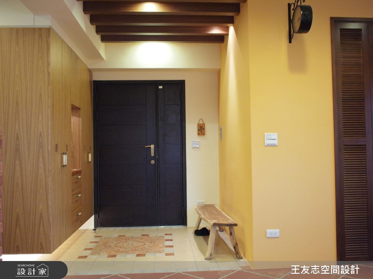 27坪新成屋(5年以下)_鄉村風案例圖片_王友志空間設計有限公司_王友志_08之1