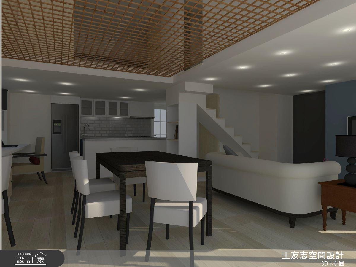 22坪中古屋(5~15年)_美式風案例圖片_王友志空間設計有限公司_王友志_10之2