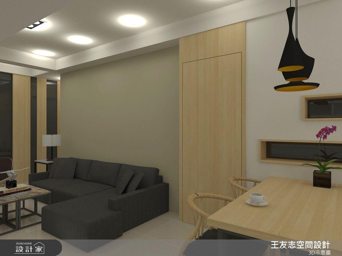 20坪新成屋(5年以下)_北歐風案例圖片_王友志空間設計有限公司_王友志_11之4