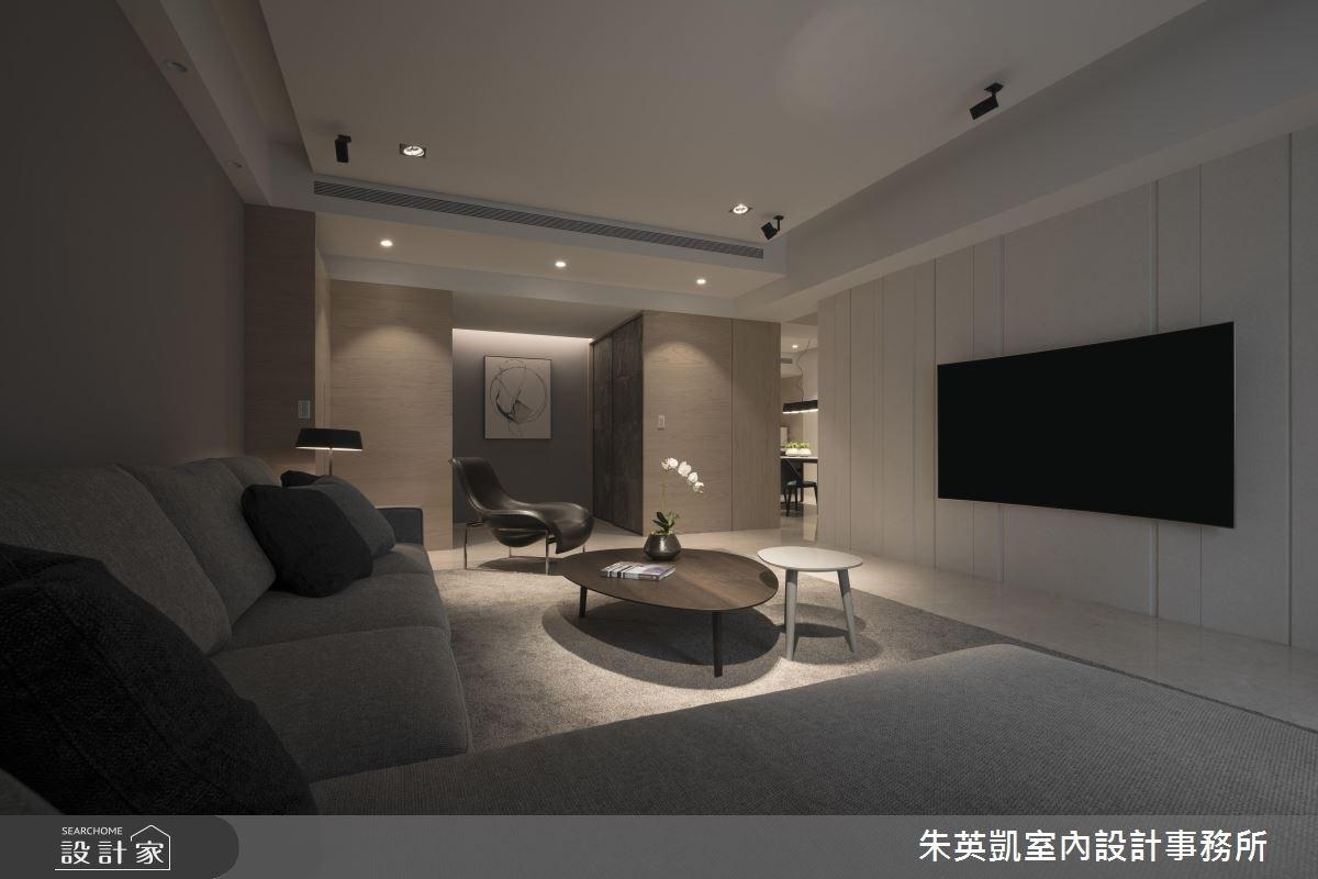 55坪新成屋(5年以下)_現代風客廳案例圖片_朱英凱室內設計事務所_朱英凱_01之2