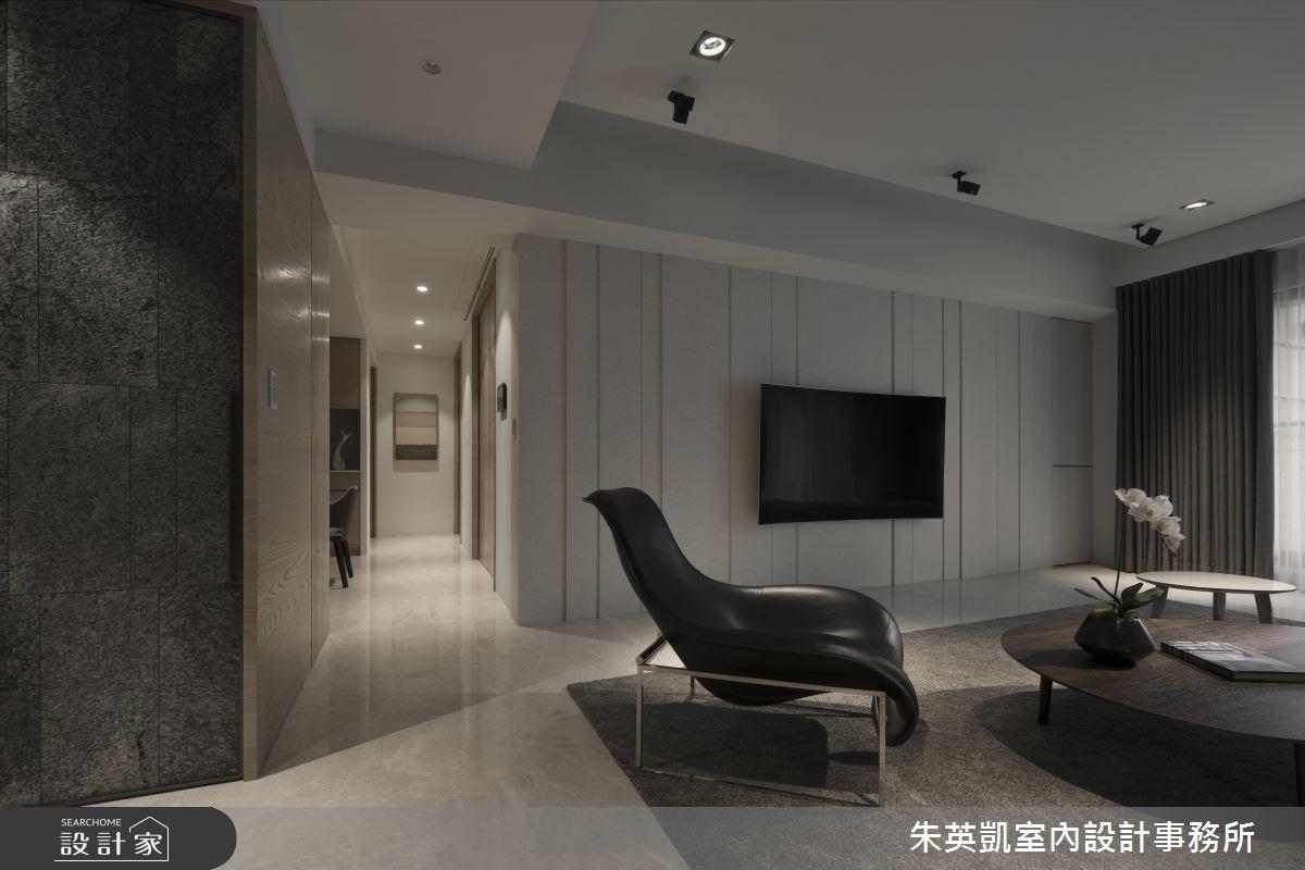 55坪新成屋(5年以下)_現代風客廳案例圖片_朱英凱室內設計事務所_朱英凱_01之3