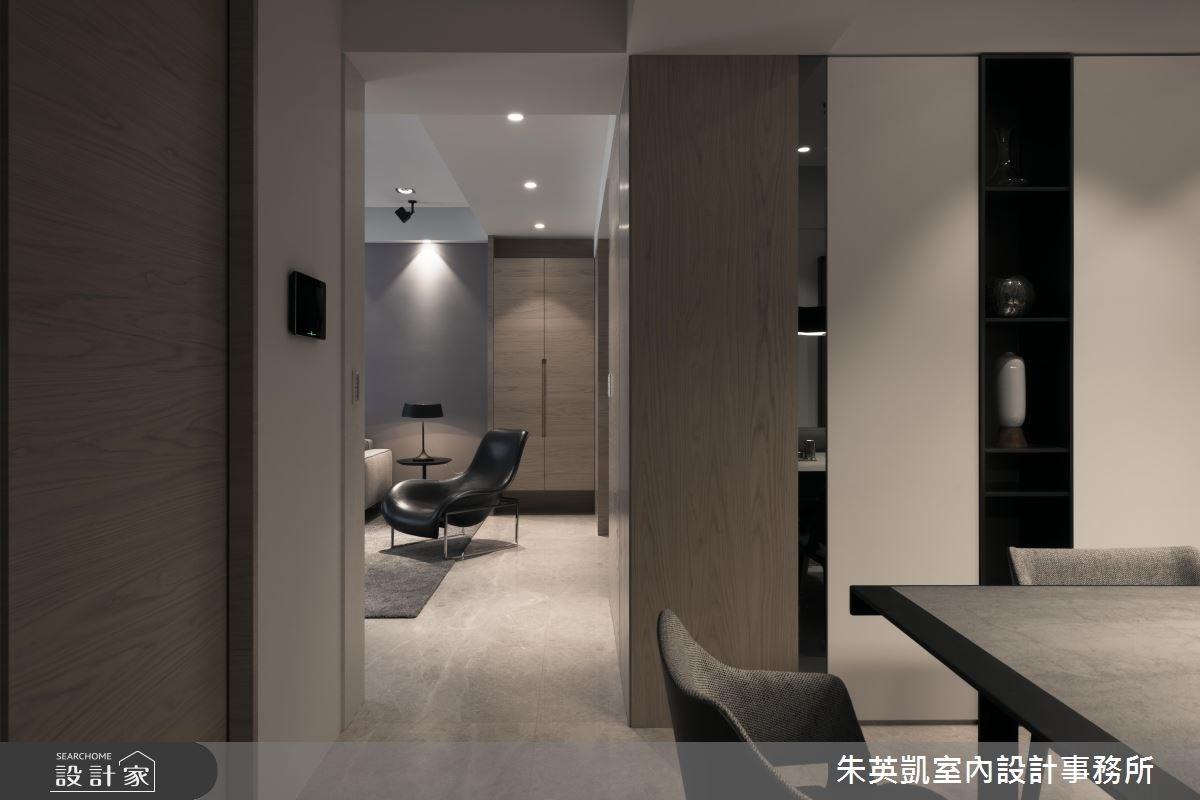 55坪新成屋(5年以下)_現代風客廳案例圖片_朱英凱室內設計事務所_朱英凱_01之4
