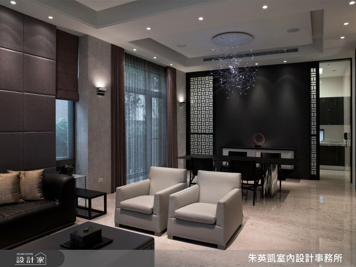 150坪新成屋(5年以下)_現代風客廳餐廳案例圖片_朱英凱室內設計事務所_朱英凱_04之3