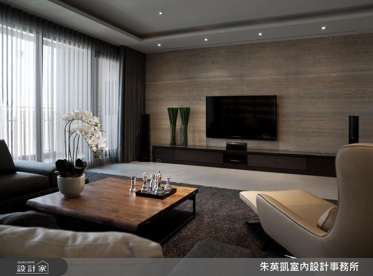 100坪新成屋(5年以下)_現代風客廳案例圖片_朱英凱室內設計事務所_朱英凱_05之4
