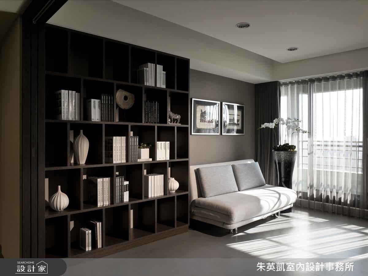 60坪_現代風書房案例圖片_朱英凱室內設計事務所_朱英凱_12之4