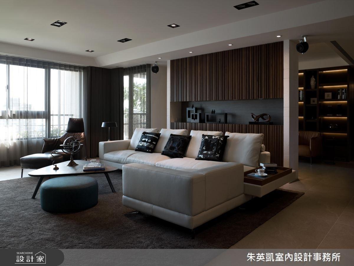 53坪新成屋(5年以下)_現代風客廳案例圖片_朱英凱室內設計事務所_朱英凱_15之3