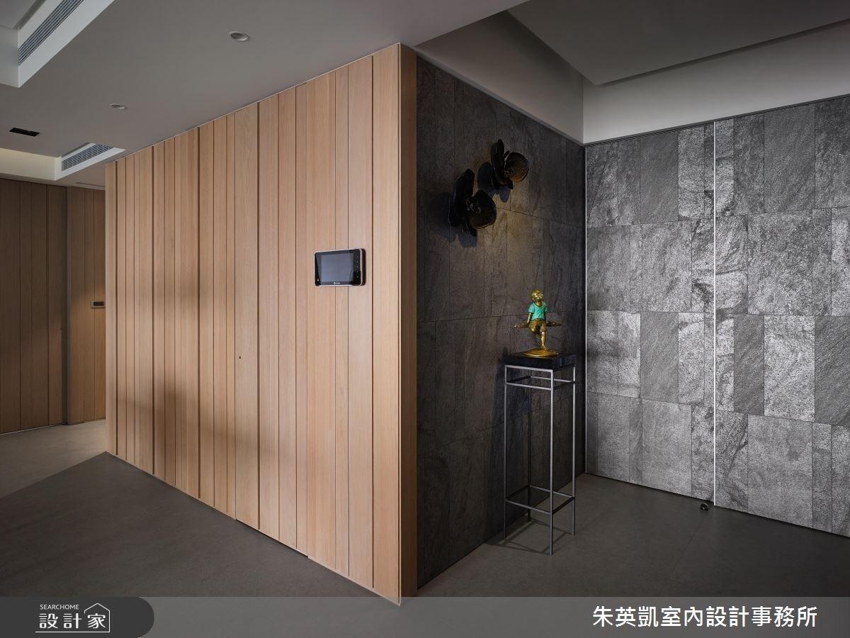 45坪_現代風玄關案例圖片_朱英凱室內設計事務所_朱英凱_18之2