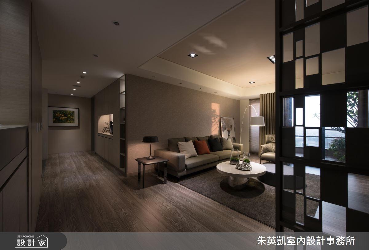 50坪新成屋(5年以下)_現代風客廳案例圖片_朱英凱室內設計事務所_朱英凱_19之2