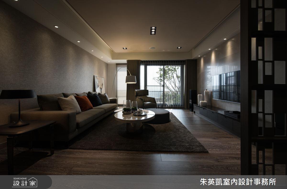 50坪新成屋(5年以下)_現代風客廳案例圖片_朱英凱室內設計事務所_朱英凱_19之3