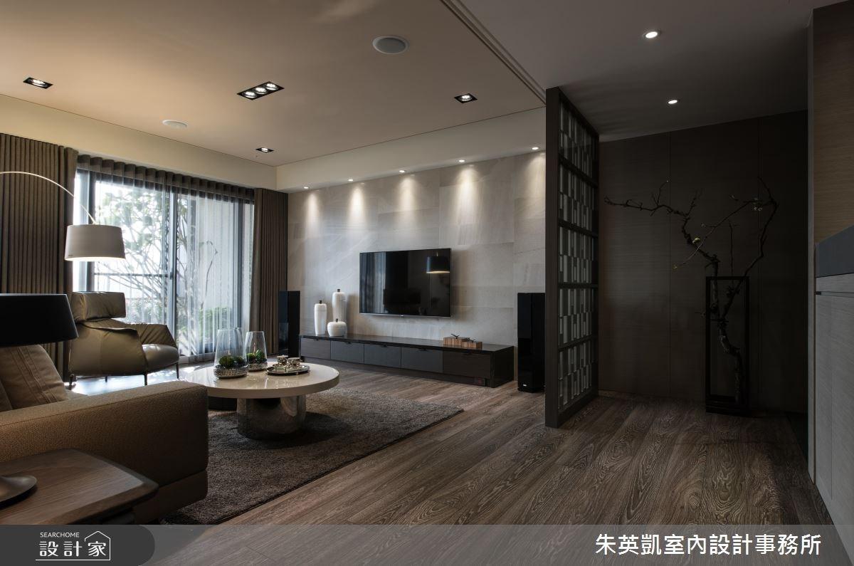 50坪新成屋(5年以下)_現代風客廳案例圖片_朱英凱室內設計事務所_朱英凱_19之4