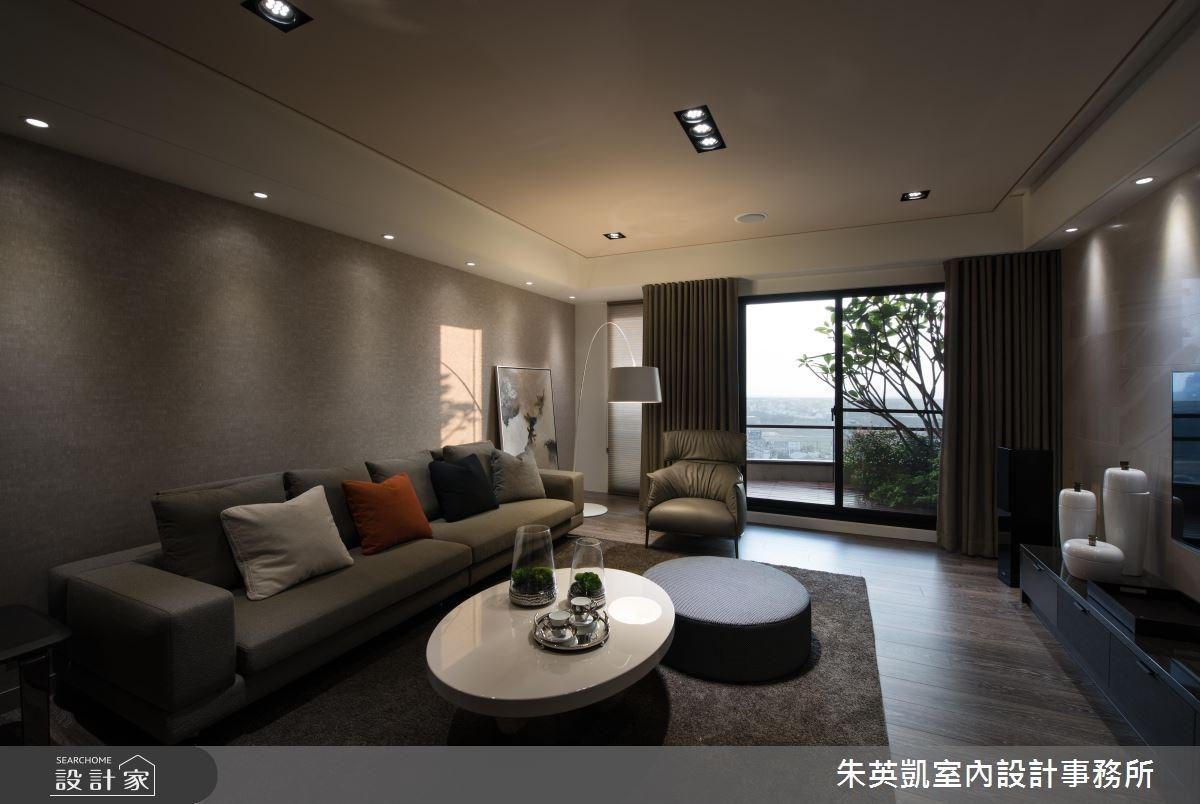 50坪新成屋(5年以下)_現代風客廳案例圖片_朱英凱室內設計事務所_朱英凱_19之5
