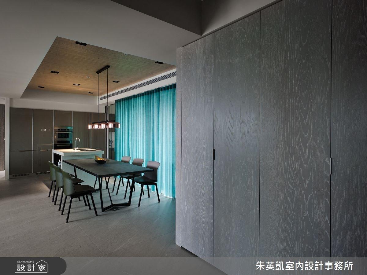 45坪_現代風餐廳案例圖片_朱英凱室內設計事務所_朱英凱_21之2