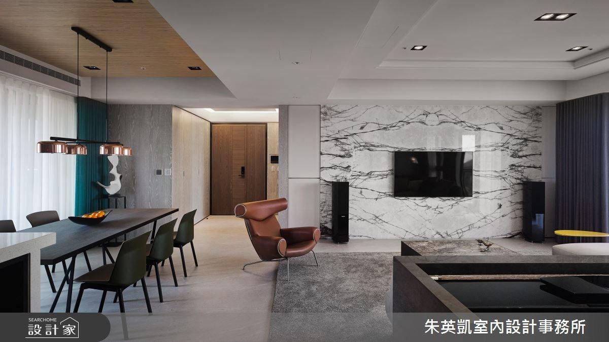 45坪_現代風玄關餐廳案例圖片_朱英凱室內設計事務所_朱英凱_21之3