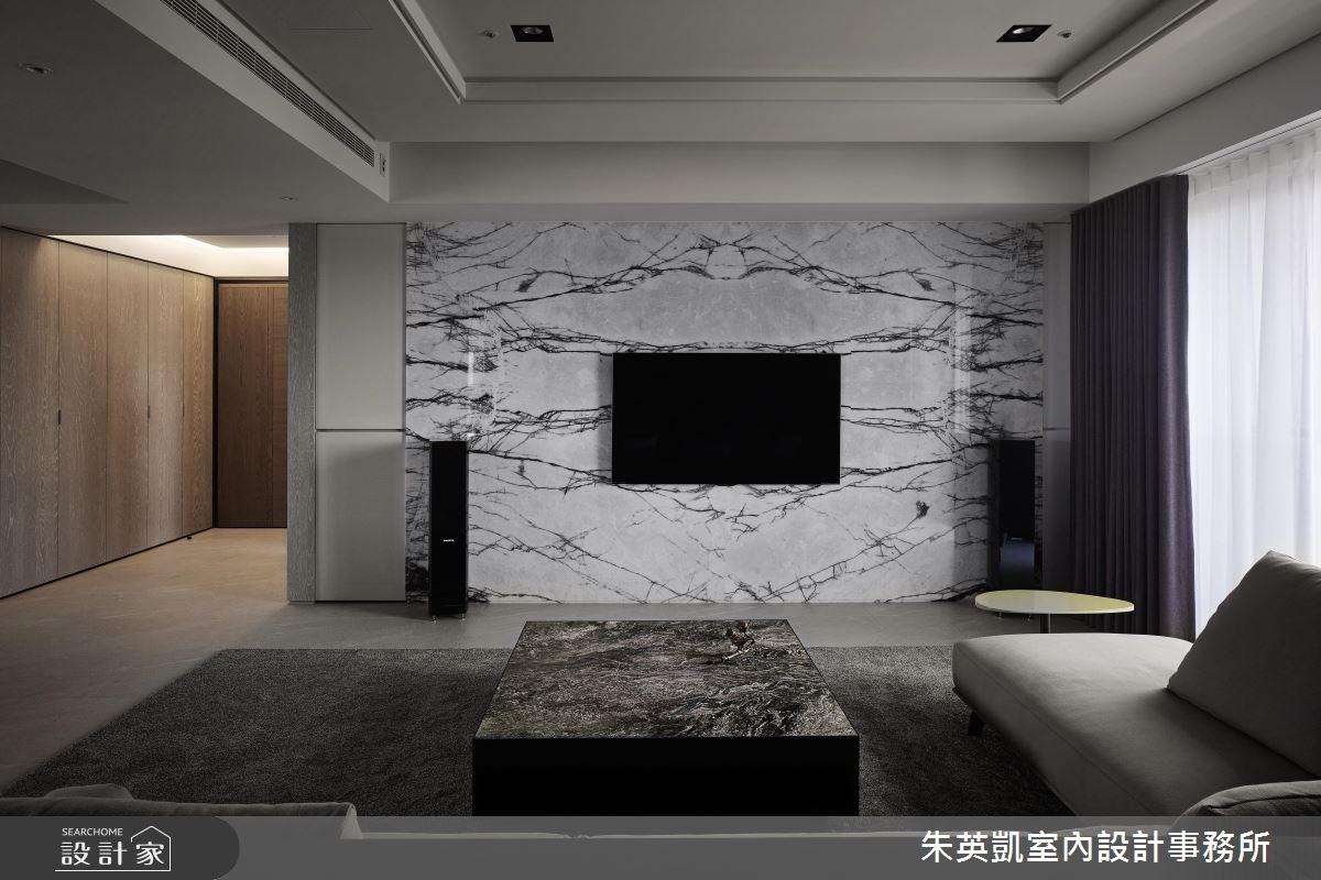 45坪_現代風玄關客廳案例圖片_朱英凱室內設計事務所_朱英凱_21之4