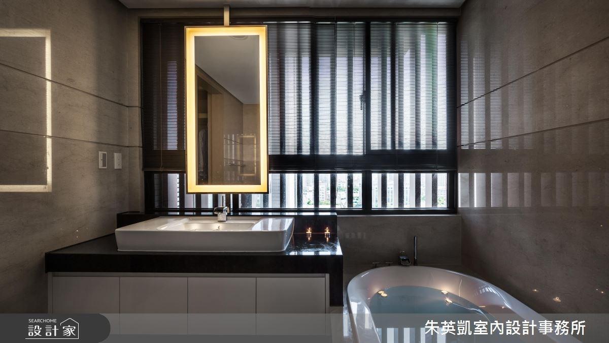 45坪_現代風浴室案例圖片_朱英凱室內設計事務所_朱英凱_21之30