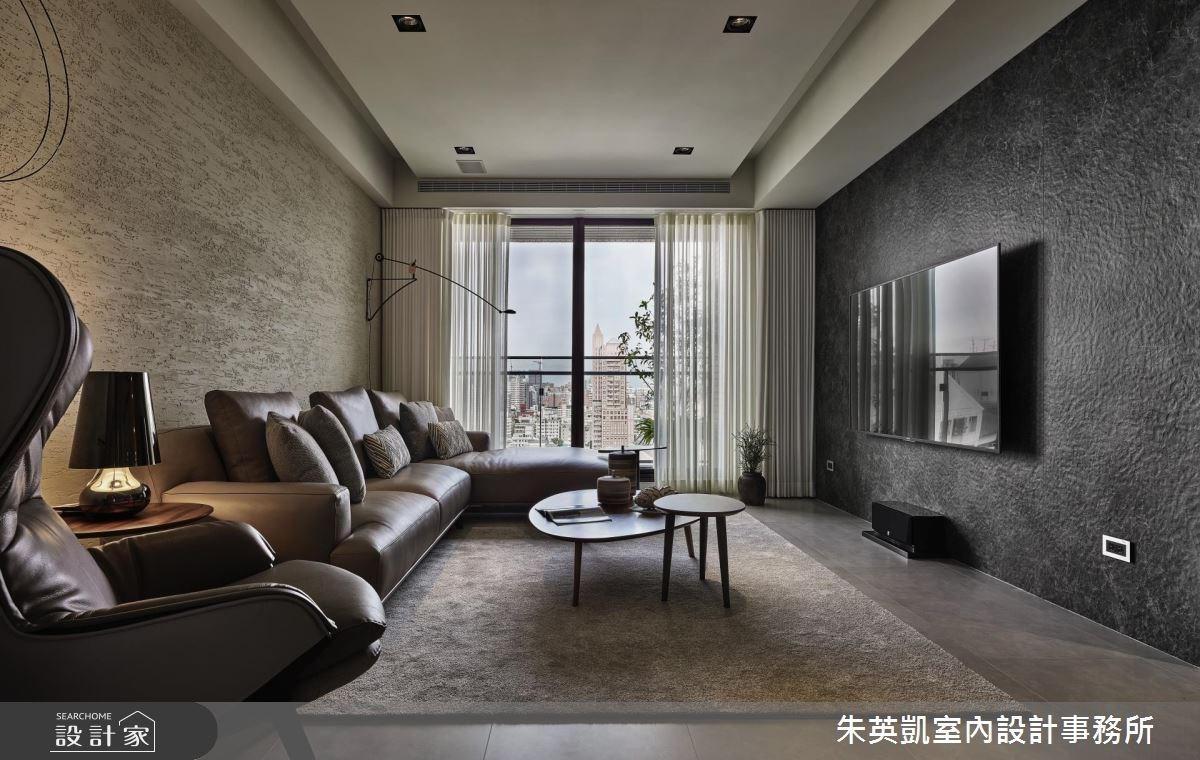 32坪新成屋(5年以下)_現代風客廳案例圖片_朱英凱室內設計事務所_朱英凱_25之2