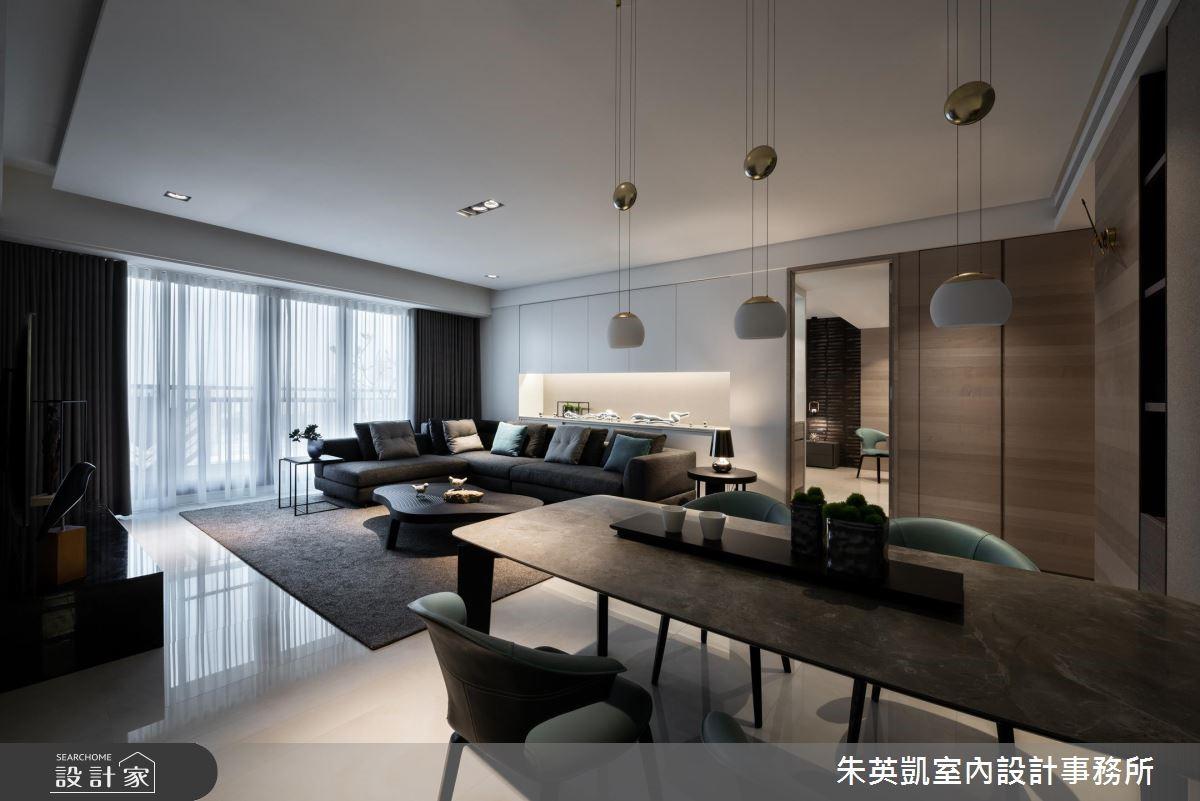 40坪新成屋(5年以下)_現代風餐廳案例圖片_朱英凱室內設計事務所_朱英凱_27之2